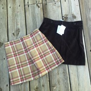 Janie and Jack/ Old Navy skirts size 6